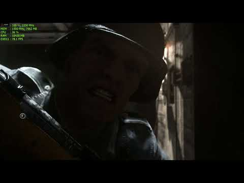 Call of Duty: WWII - 2k (2560x1440) MAX Graphics GAMEPLAY [AMD R9 390x]
