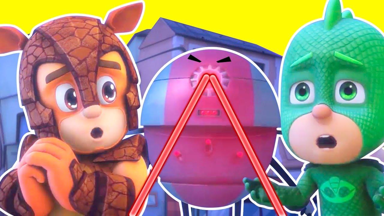 Heroes en Pijamas Español 2021 - el Gran Problema del Mini Robot Malvado - Dibujos Animados Pj Masks