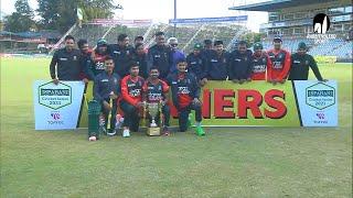 Prize Giving Ceremony    Zimbabwe vs Bangladesh   3rd T20i   Bangladesh tour of Zimbabwe 2021