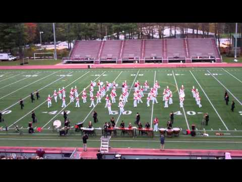 Wakefield High School Marching Band - MICCA Finals - Lowell 2011 HD
