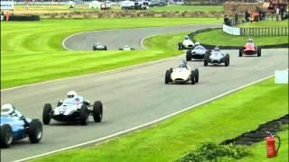 Fabulous racing move from Julian Bronson to regain lead Goodwood Revival