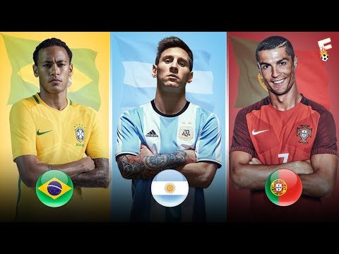 Best Players At Every Team In World Cup 2018 ⚽ Key Players ⚽ Footchampion