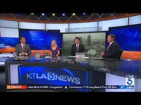 GLASS JAW Movie on KTLA morning news!