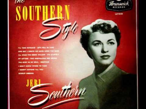Jeri Southern - I'll Wear The Green Willow