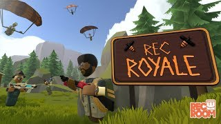 FUN Virtual Reality FORTNITE BATTLE ROYALE! - Rec Room: Rec Royale Gameplay!
