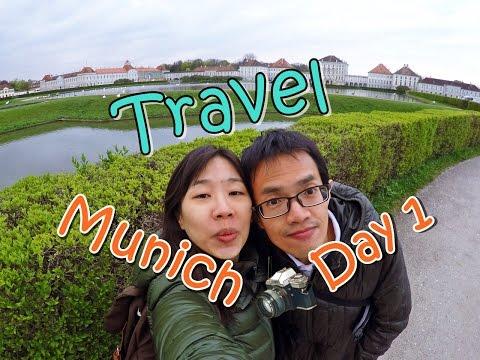 [เที่ยวยุโรป] Day8 - Travel Munich day1 - Nymphenburg Palace , Protest at Marienplatz, Germany