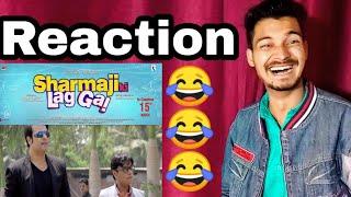 Sharmaji Ki Lag Gai | Reaction | Review | Official Trailer | Krishna | Abishek | Yaha Sab Milega