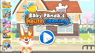 Baby Panda's House Cleaning l Game Video l Kids Games l Baby Panda Membersihkan Rumah l Game Anak