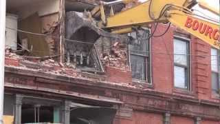 Leominster: Columbia Demolition: Close to Leveled