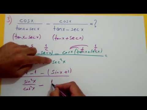 Trigonometri 7 (Soru Çözelim) Şenol Hoca Matematik