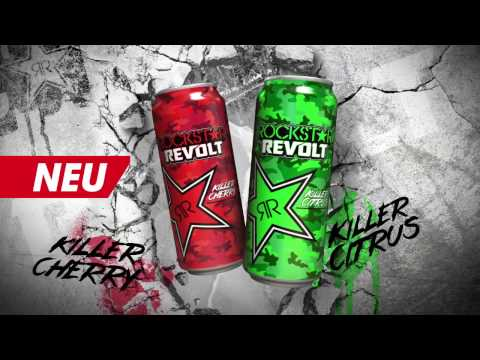 ROCKSTAR Energy Drink Commercial 2016 - Revolt