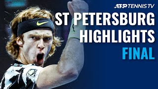 Andrey Rublev vs Borna Coric | St. Petersburg 2020 Final Highlights