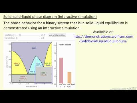 Solid-Solid-Liquid Phase Diagram (Interactive Simulation)