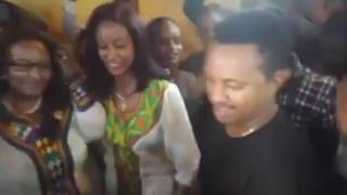ETHIOPIA - Family Party at Teddy Afro's house in Addis - Saturday May 6, 2017