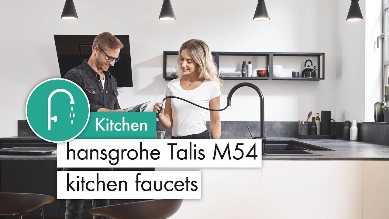 hansgrohe talis m54 kitchen faucets