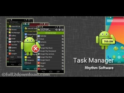 Best Android Task Killer App Premium - Task Manager Pro Download