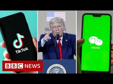 TikTok threatens legal action against Trump US ban – BBC News