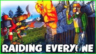 ROCKET RAIDING EVERYONE for JACKPOT LOOT | Rust (S6:E7)