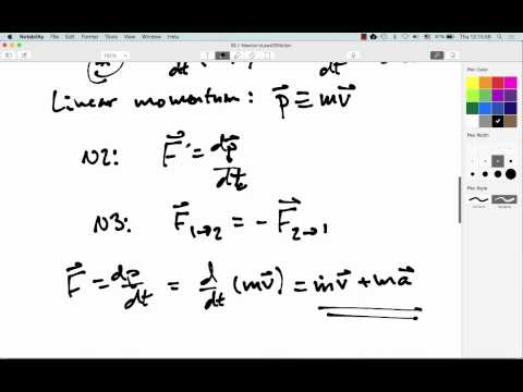 03.1: Newton's Laws Of Motion