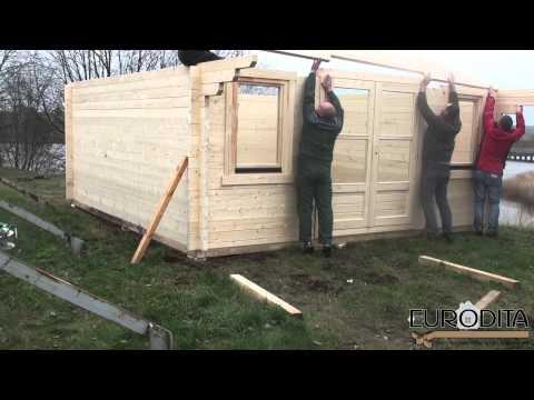 Eko trade log cabins Log cabin general assembly