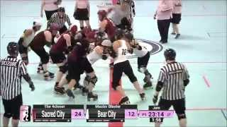 Detroit G4: Sacred City Derby Girls v Bear City Roller Derby