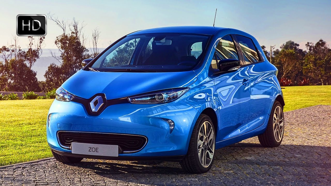 2017 renault zoe z e 40 exterior interior design drive color lightning blue hd youtube. Black Bedroom Furniture Sets. Home Design Ideas