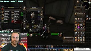 Bajheera - CLASSIC WOW: Secret Vendors & Rare Mob Drop! - Vanilla Demo Warrior Gameplay (Part 4)