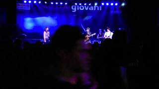 """Griots """"My place"""" Live palco ai giovani"""
