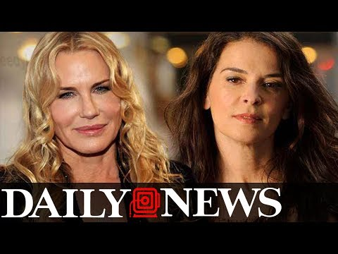 Actress Annabella Sciorra says Harvey Weinstein raped her and Darryl Hannah shares a story