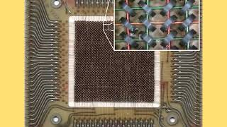 Magnetic Core Memory is Almost the Perfect Analogy for the New Atomic Model of Eric Dollards Theory