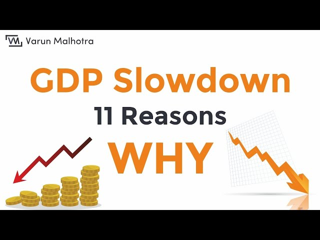 GDP Slowdown - India   11 Reasons Why indian economy is slowing and how to fix it.