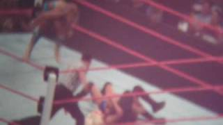 WWE Fatal 4 Way: Diva Match Footage - A. Fox vs. Maryse vs. Gail vs. Eve