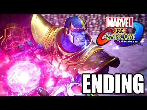 Marvel vs Capcom: Infinite - Final Boss Fight + Ending + After Credits Scene @ 1080p (60ᶠᵖˢ) HD ✔