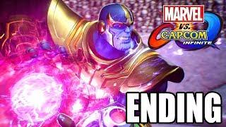 Marvel vs Capcom Infinite - Final Boss Fight Ending After Credits Scene 1080p 60 HD