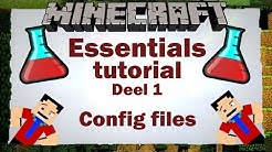 ESSENTIALS PLUGIN CONFIG ||  Downloaden & Instellen [deel 1|| Tutorial]