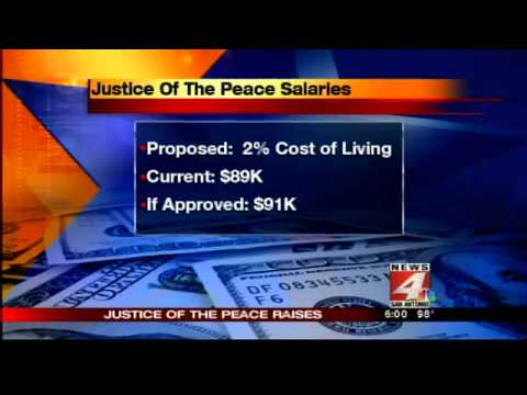 Justice of the Peace Salary Dispute