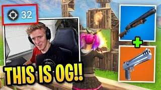 Tfue Uses *OG* Combo to DESTROY Everyone in his way...