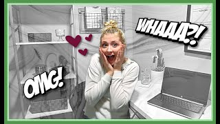 SURPRISE TEEN OFFICE MAKEOVER! |  DECORATING!
