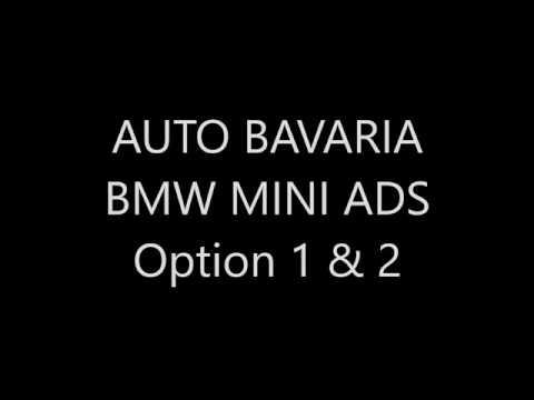 Auto Bavaria BMW Mini Radio Ads