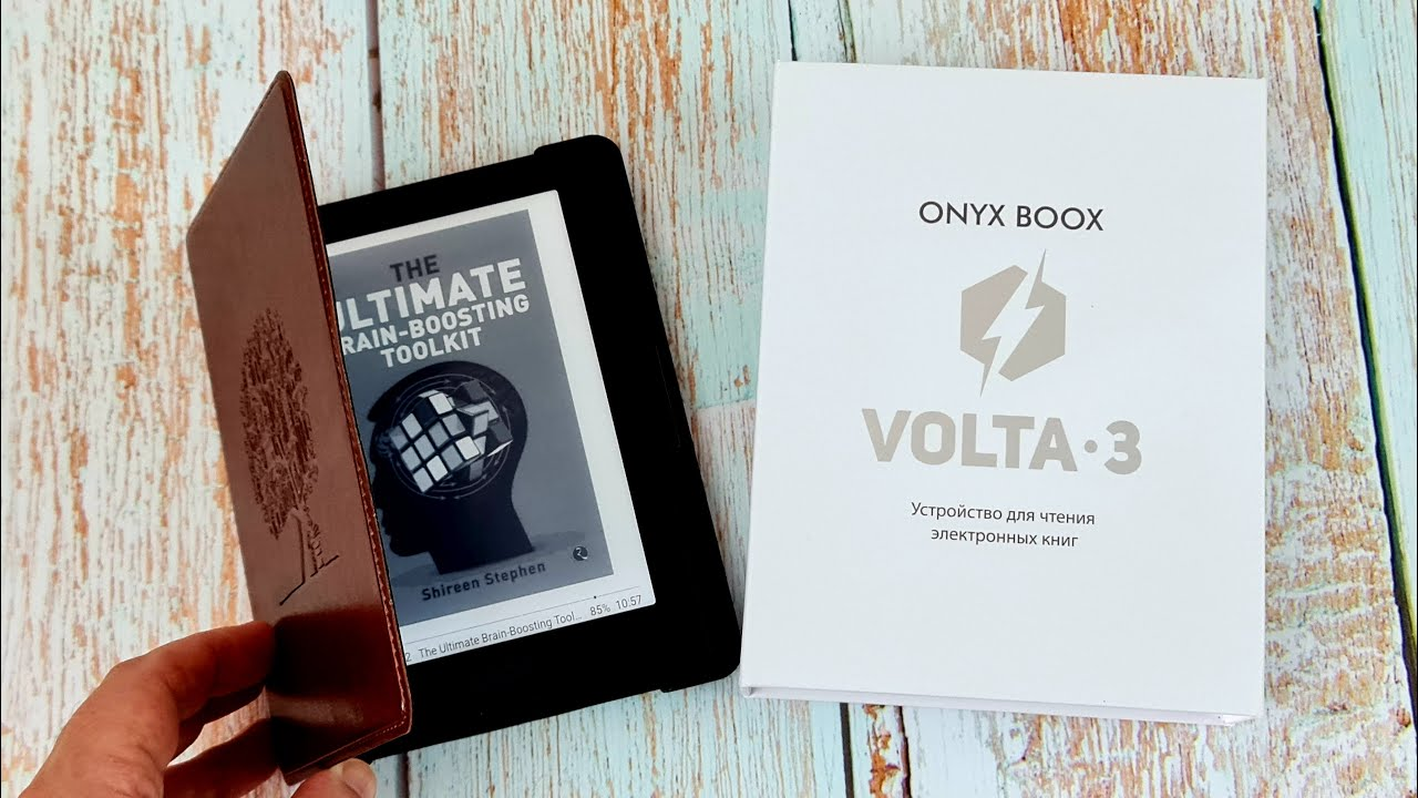ONYX BOOX Volta 3: читай и слушай!