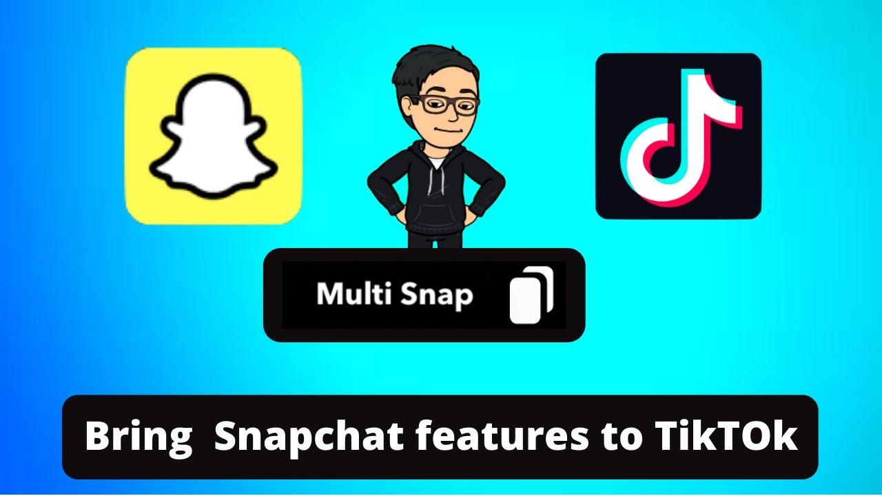 Snapchat How To Use Multi Snap Tiktok Style Videos On Snapchat 2020 Youtube