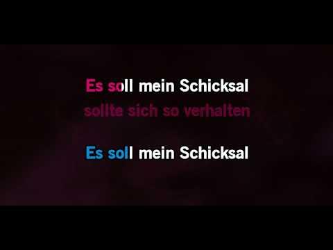 Knef + Extrabreit - Für mich solls Rote Rosen regnen (Karaoke)