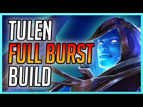 AOV: TULEN FULL AP BURST (INSANE STOMP) | ARENA OF VALOR (펜타스톰 / ROV) TULEN ARCANA AND BUILD