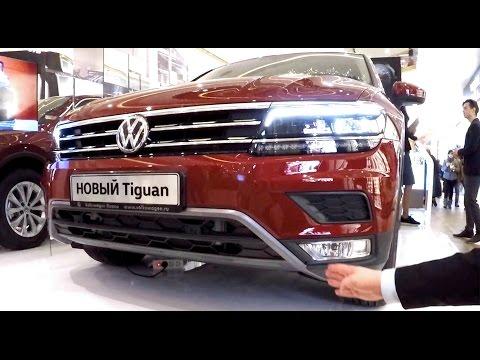 VW Vlog #23: Новый Volkswagen Tiguan 2017 в Санкт-Петербурге - первое знакомство