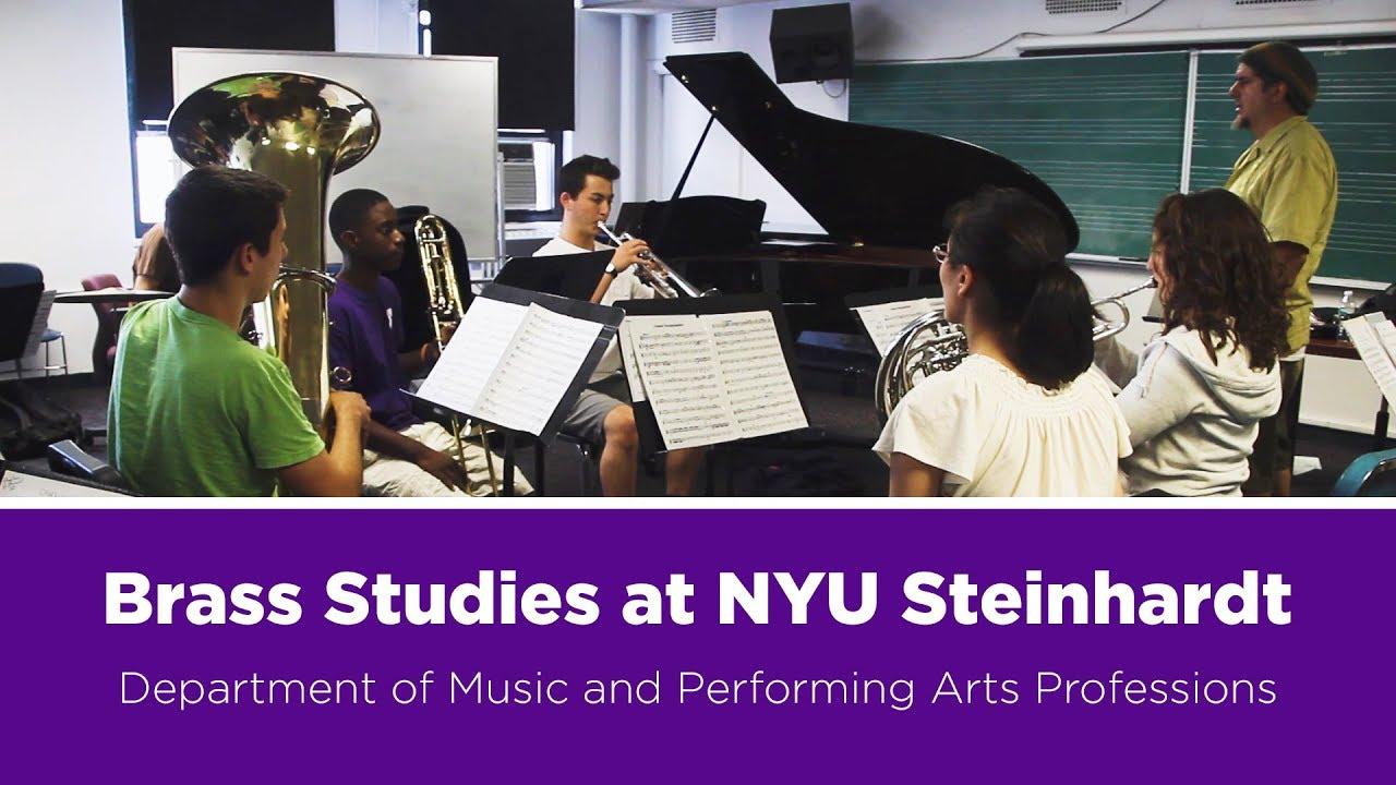 Brass Studies - NYU Steinhardt