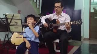 (Khắc Hưng) Sau tất cả - Quốc Khánh - Học trò (Harmonica Guitar Cover)