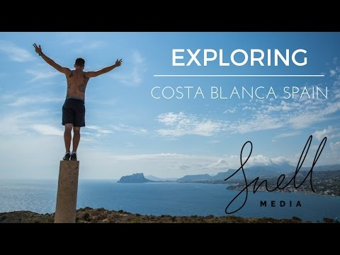 Exploring the Costa Blanca with Backpacker Steve