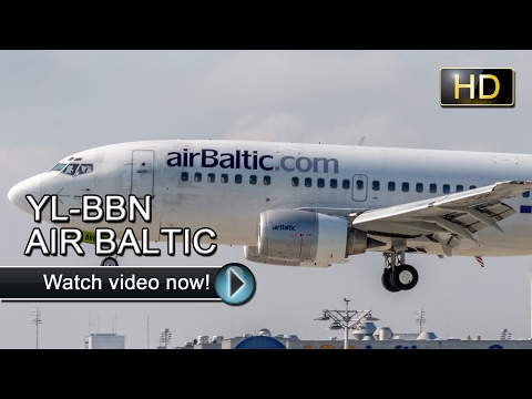 ✈YL-BBN | Boeing 737-500 | AIR BALTIC | RIGA → MUNICH✈ [SPECIAL LIVERY]