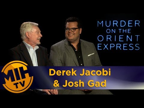 Derek Jacobi & Josh Gad Murder on the Orient Express