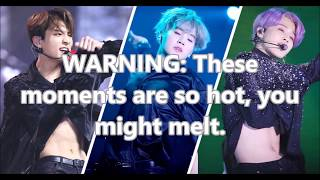 BTS MOST SEXIEST MOMENTS EVER
